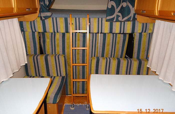 fiat mclouis lagan 420 interior salita cama